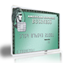 American Express Business Card Green